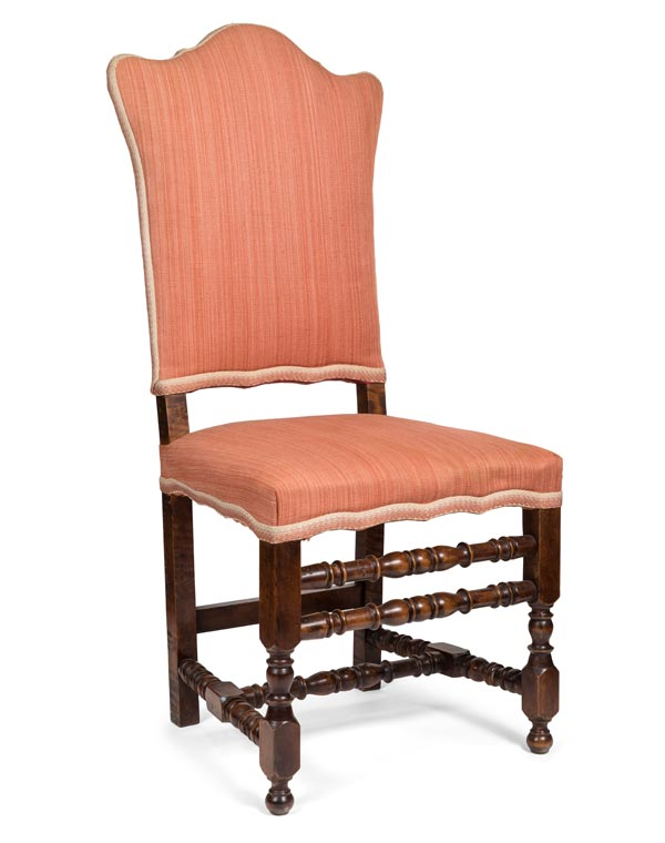 Late 1800s Italian Antique Chair