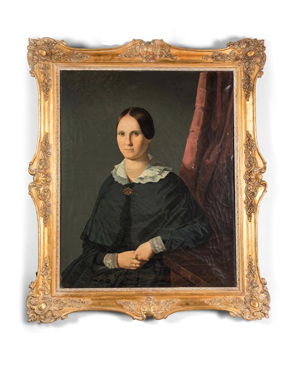 19th Century Portrait of a Lady