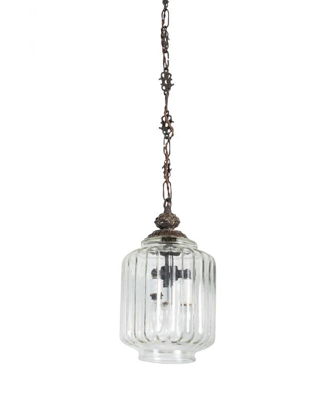 Clear Murano Lantern