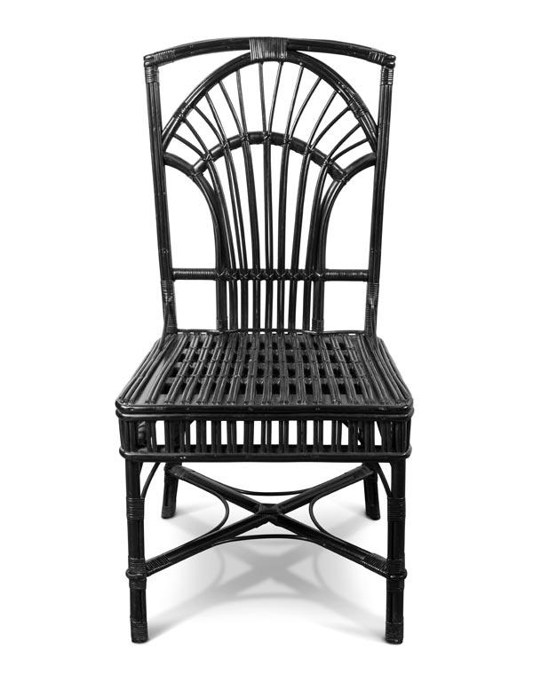 Plantation Style Armless Chair