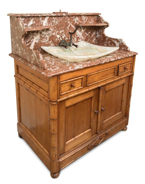 Custom Alder Wood Washstand