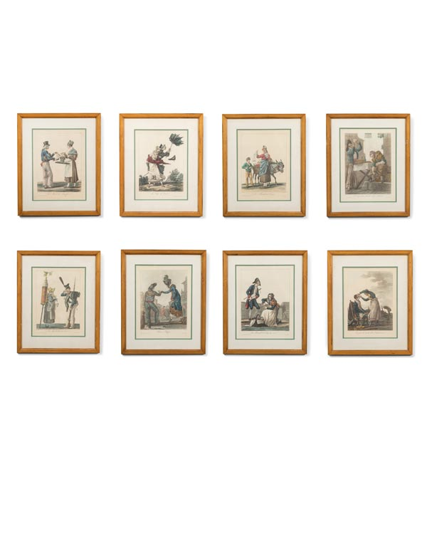 Turn of the Century Original French Prints