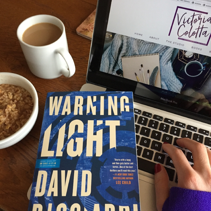 Book Review for WARNING LIGHT by David Ricciardi
