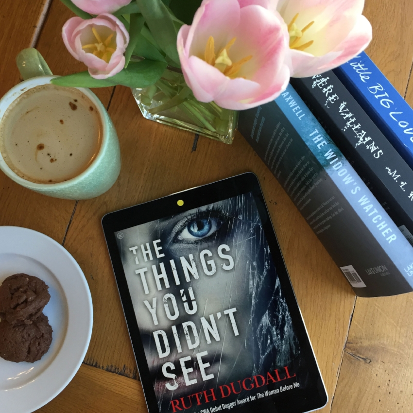 Book Review for THE THINGS YOU DIDN'T SEE by Ruth Dugdall