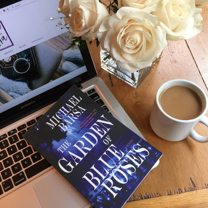 Book Review for THE GARDEN OF BLUE ROSES by Michael Barsa