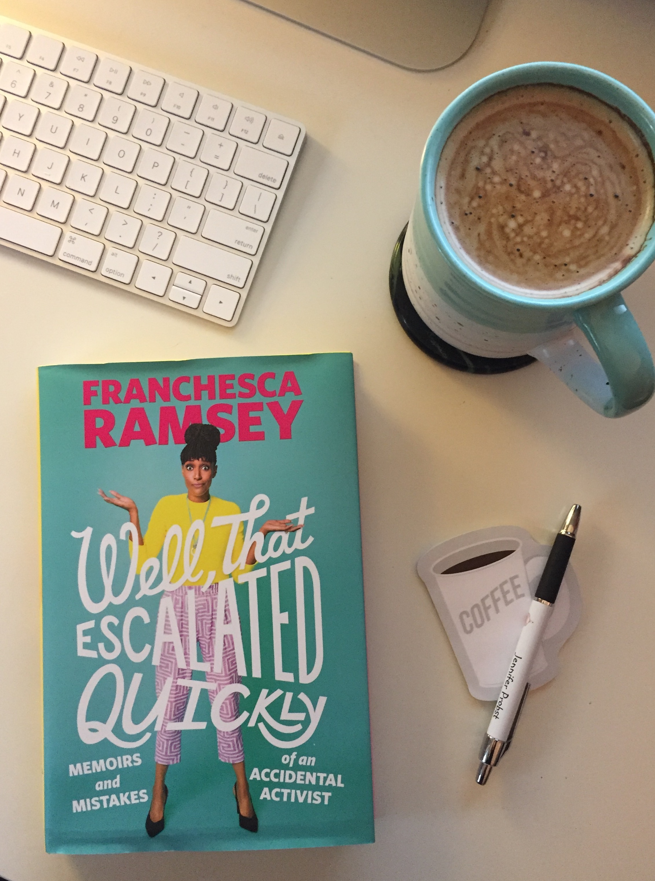 Book Review for WELL THAT ESCALATED QUICKLY by Franchesca Ramsey
