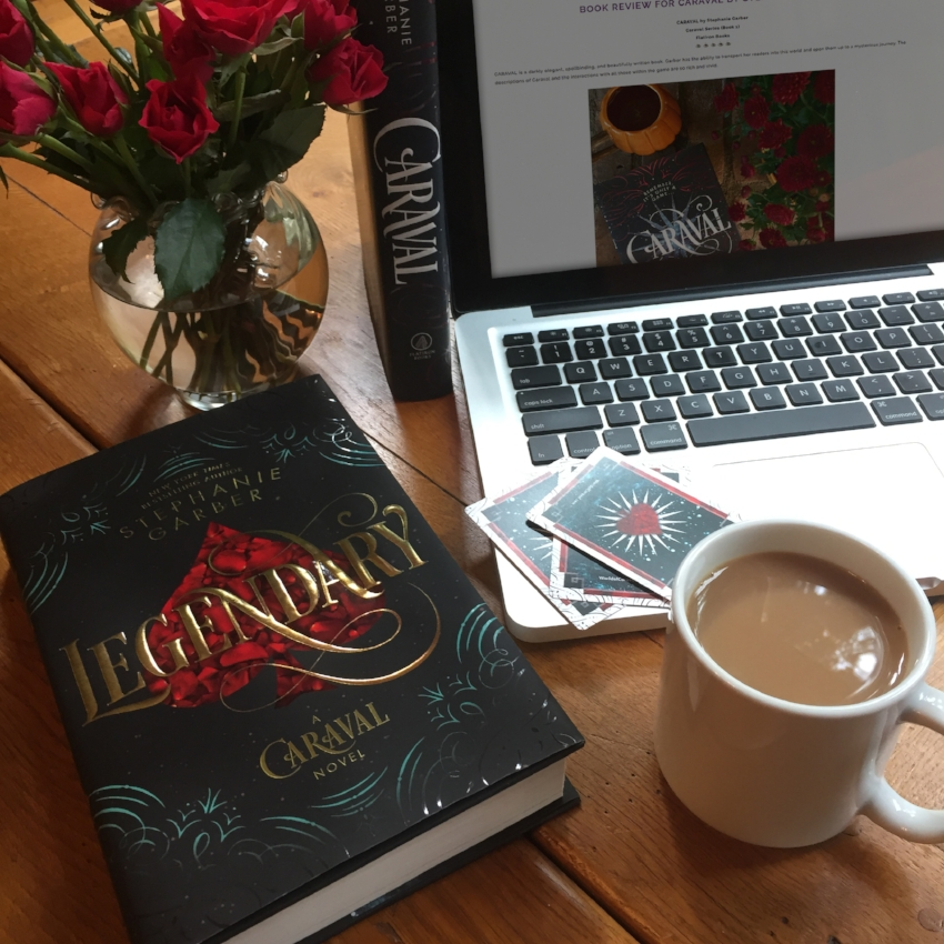 Book Review for LEGENDARY by Stephanie Garber