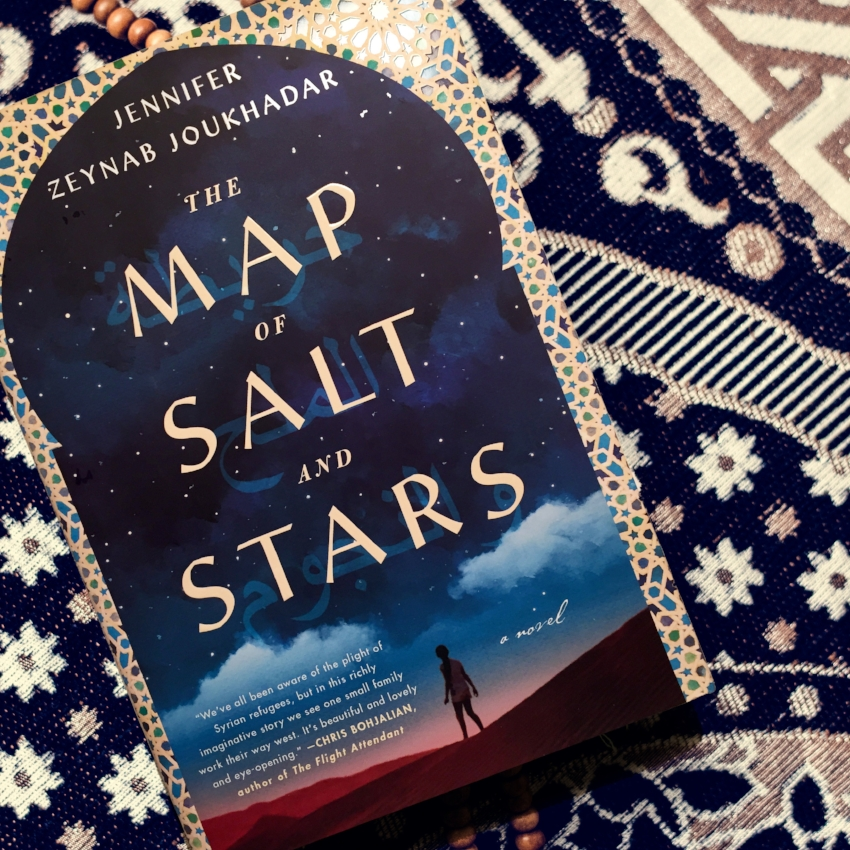 Book Review for THE MAP OF SALT AND STARS by Jennifer Zeynab Joukhadar