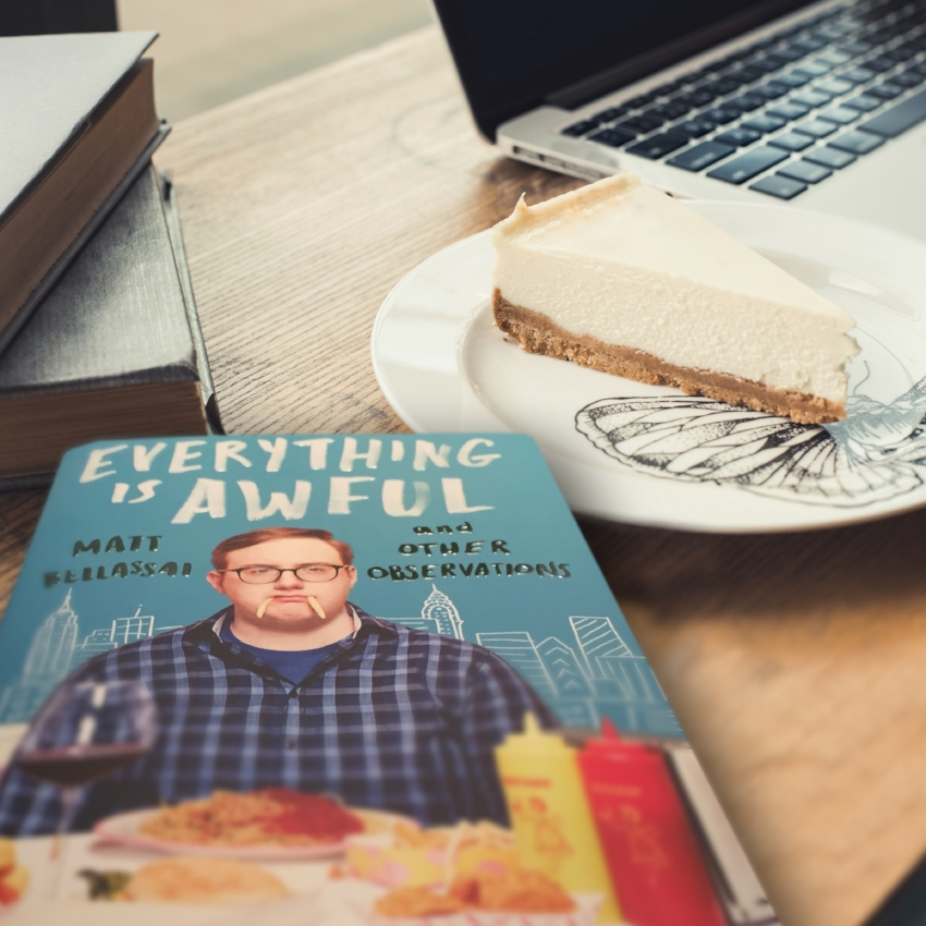 Book Review for EVERYTHING IS AWFUL by Matt Bellassai