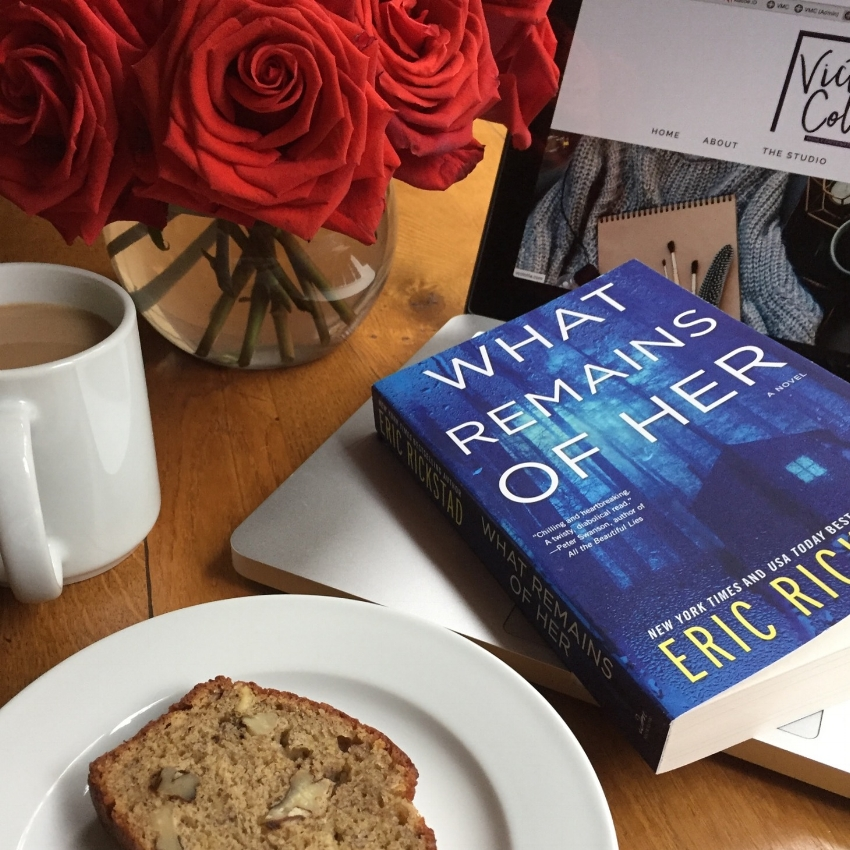 Book Review for WHAT REMAINS OF HER by Eric Rickstad