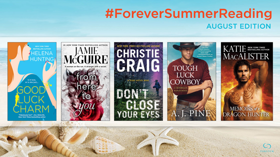 Click here to enter to win a set of our #ForeverSummerReading August Books + Tote Bag!