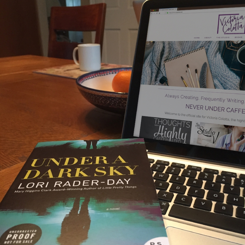 Book Review for UNDER A DARK SKY by Lori Rader-Day