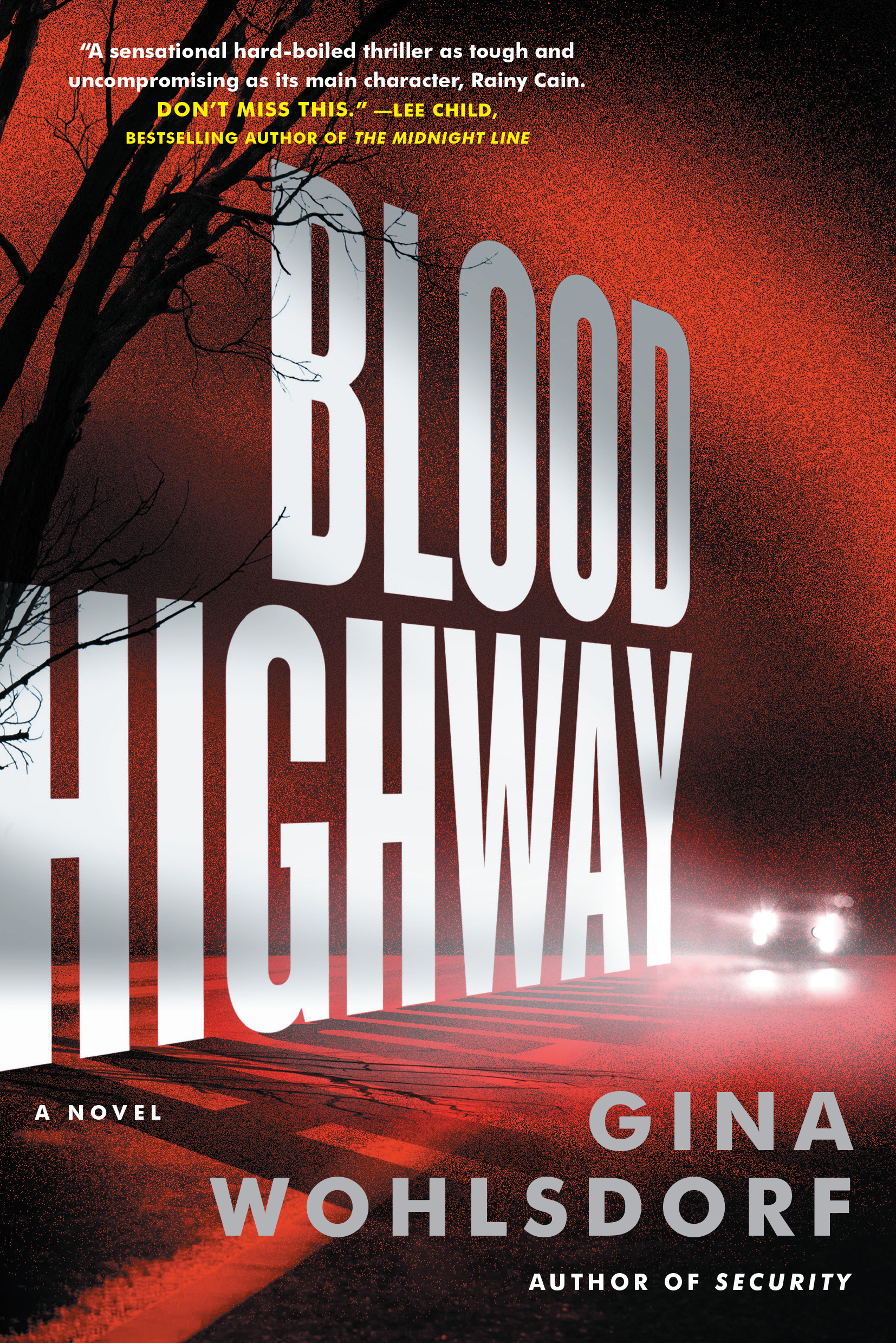 BLOOD HIGHWAY by Gina Wohlsdorf (Cover)