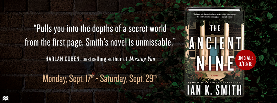 Blog Tour for THE ANCIENT NINE by Ian K. Smith