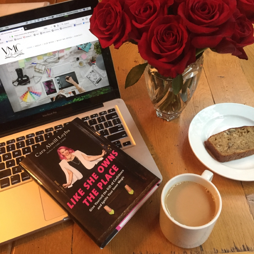Book Review for LIKE SHE OWNS THE PLACE by Cara Alwill Leyba