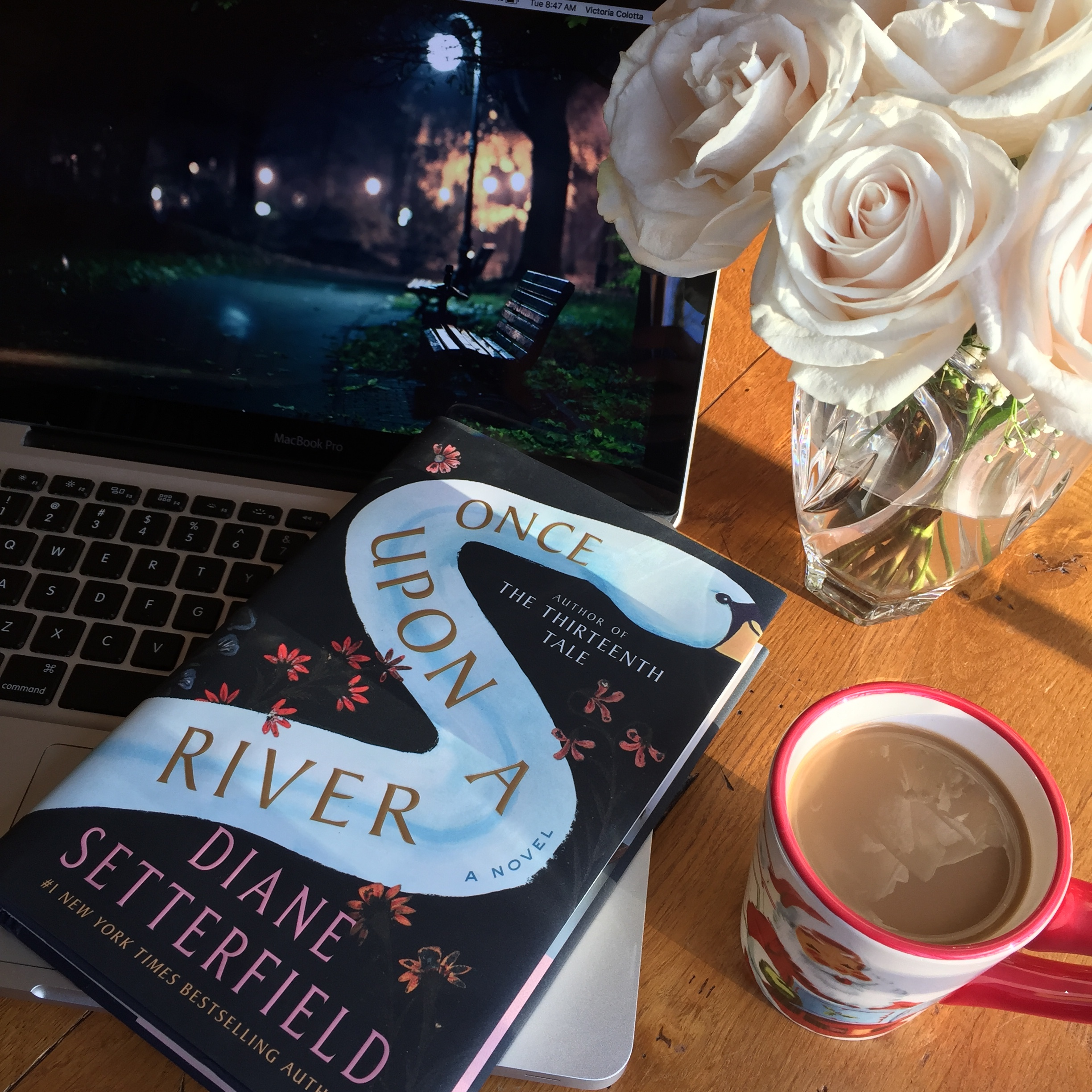 Book Review for ONCE UPON A RIVER by Diane Setterfield