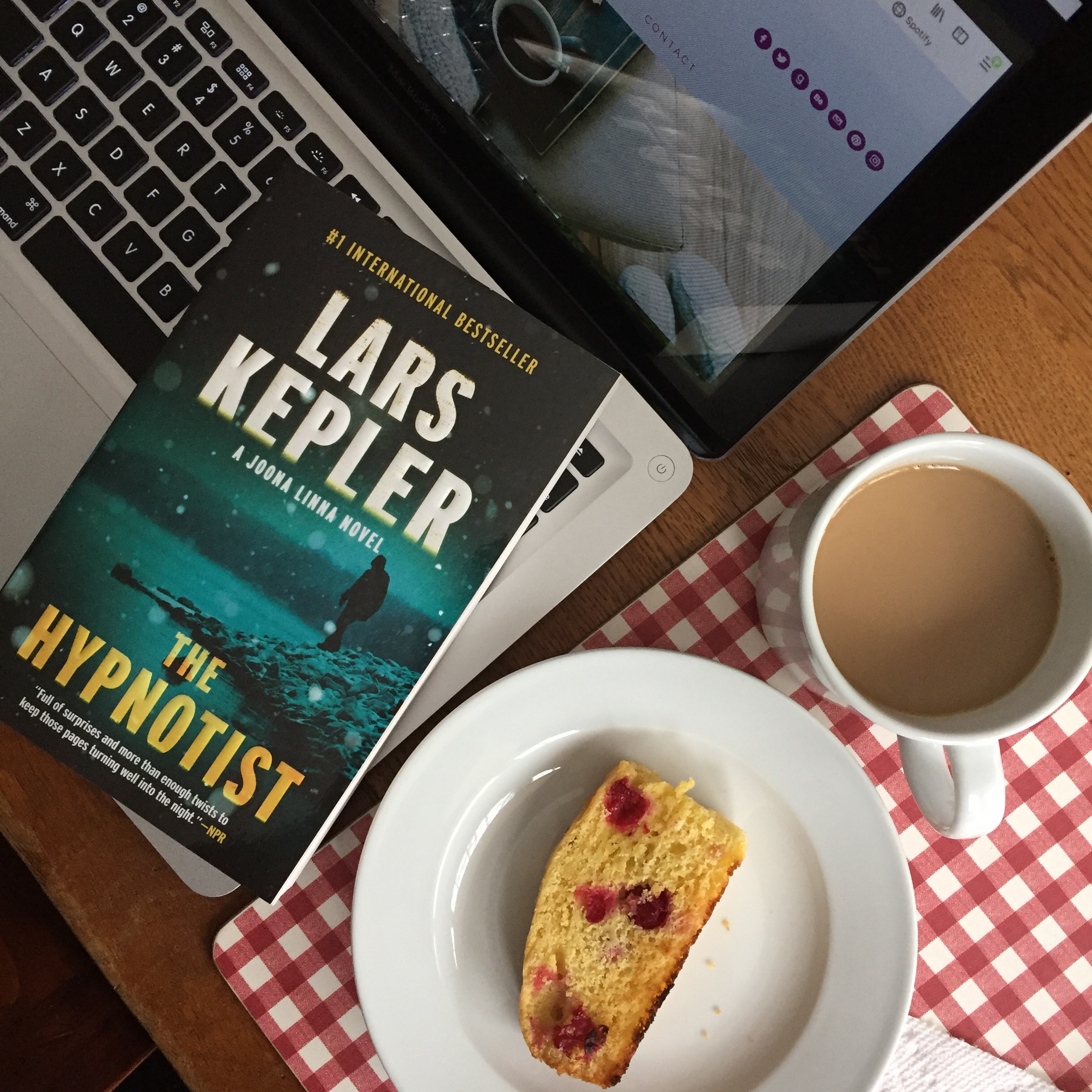 Book Review for THE HYPNOTIST by Lars Kepler