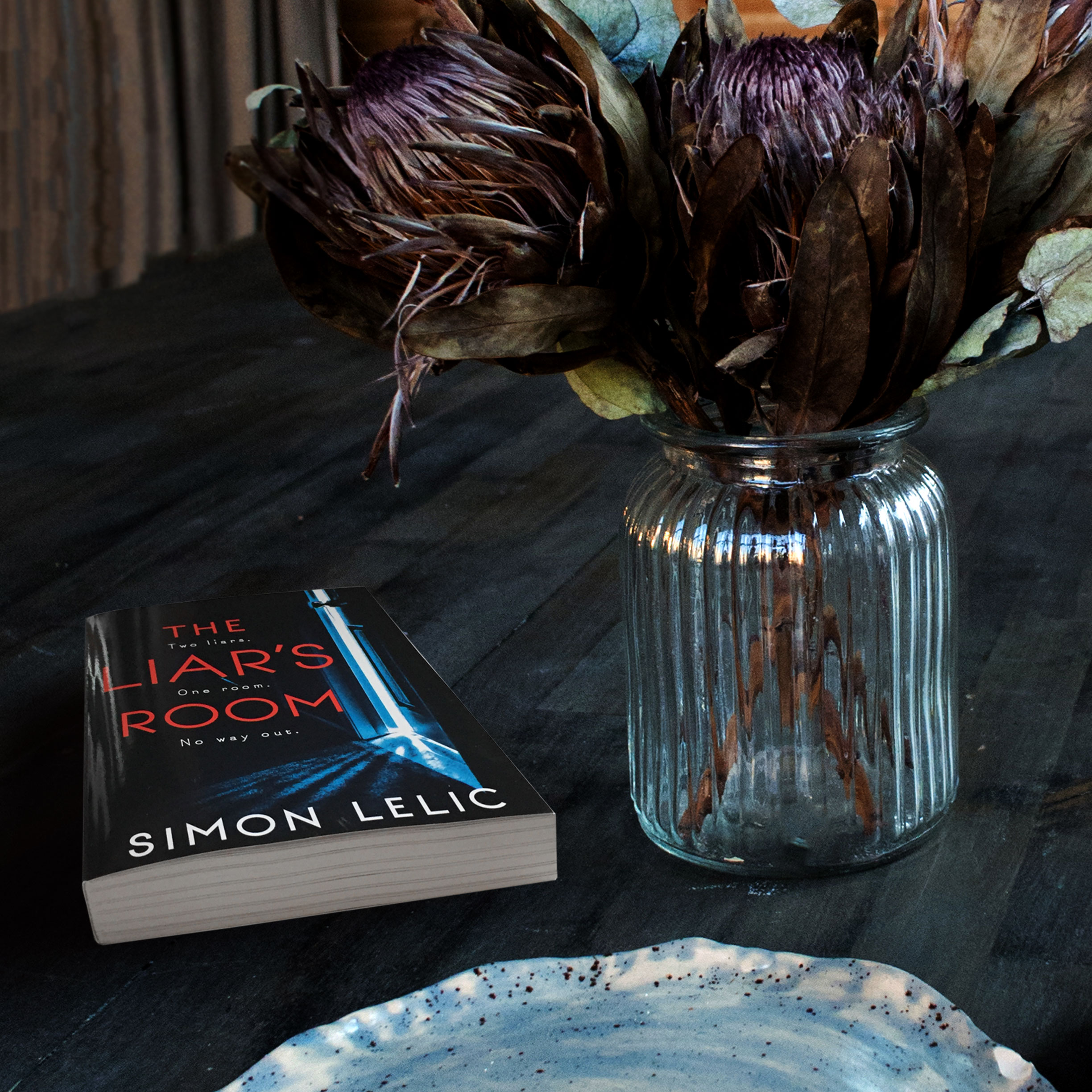 Book Review for THE LIAR'S ROOM by Simon Lelic