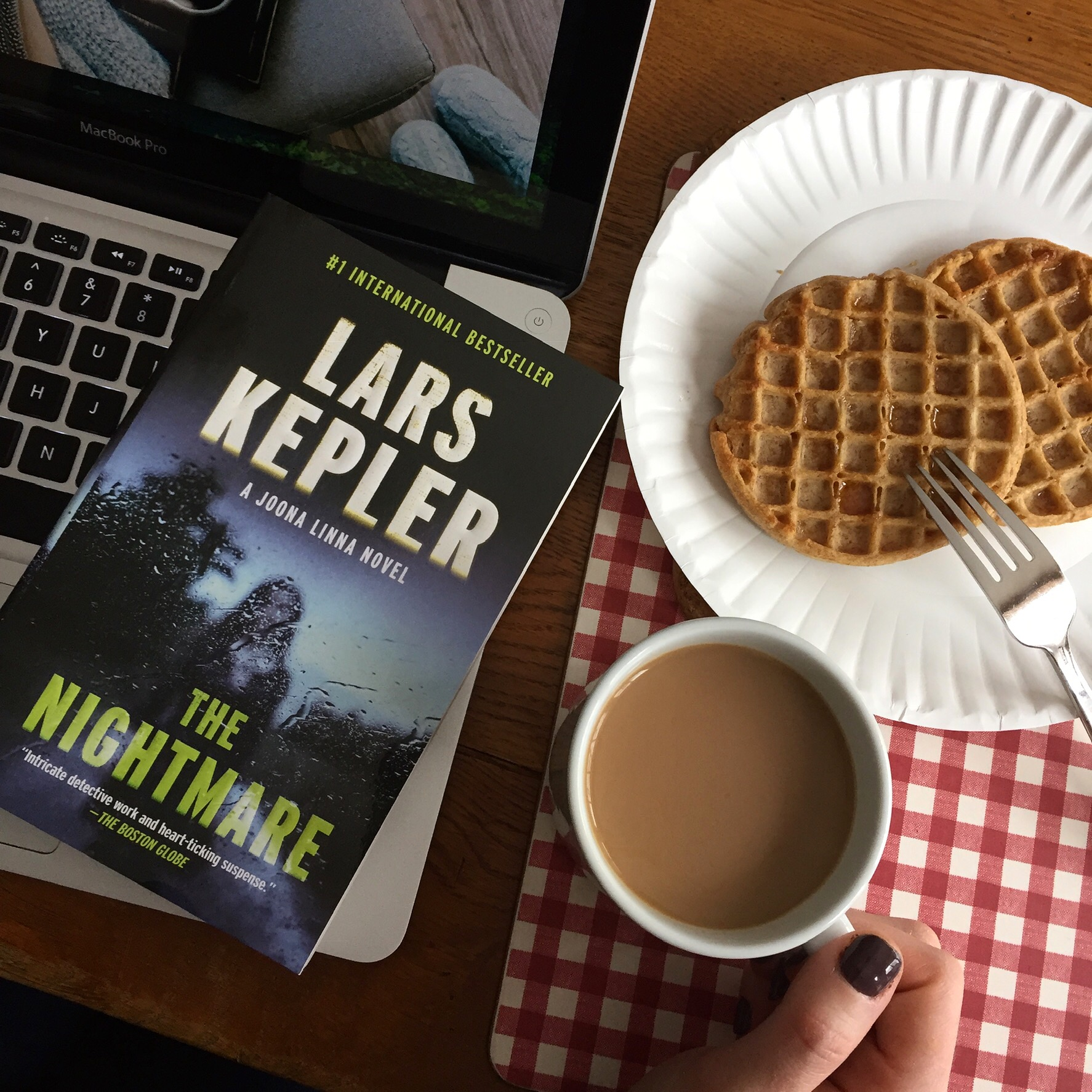 Book Review for THE NIGHTMARE by Lars Kepler