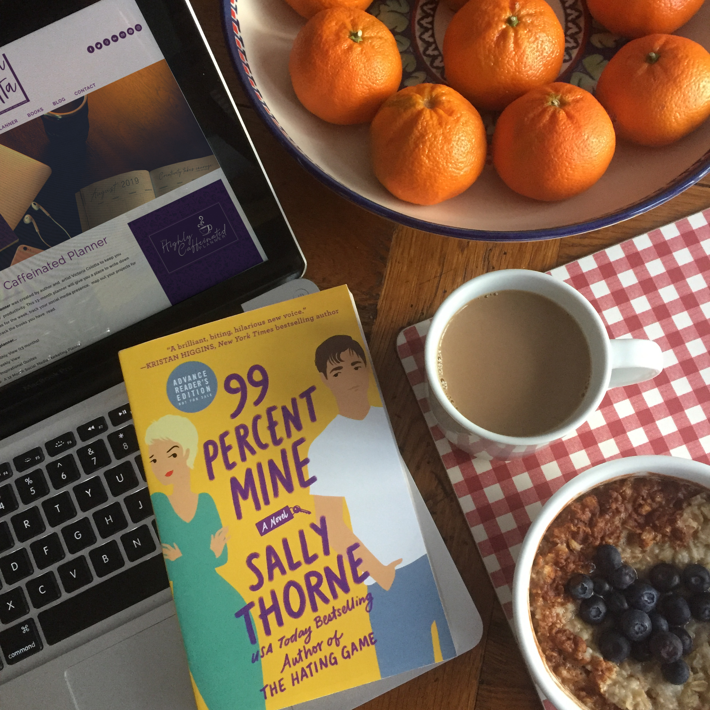 Book Review for 99 PERCENT MINE by Sally Thorne