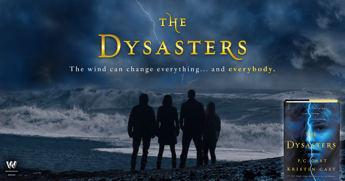 Blog Tour for THE DYSASTERS by P.C. and Kristin Cast