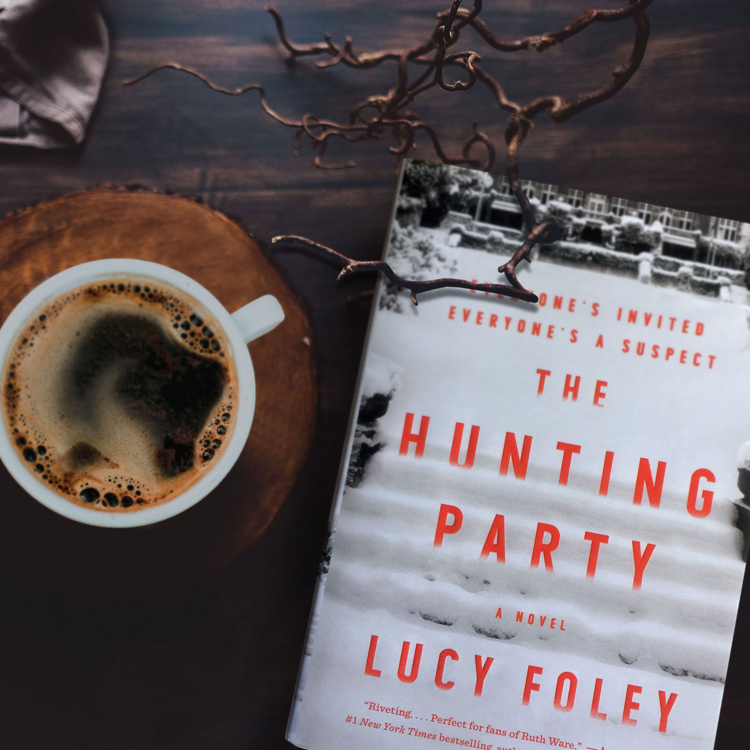 Book Review for THE HUNTING PARTY by Lucy Foley