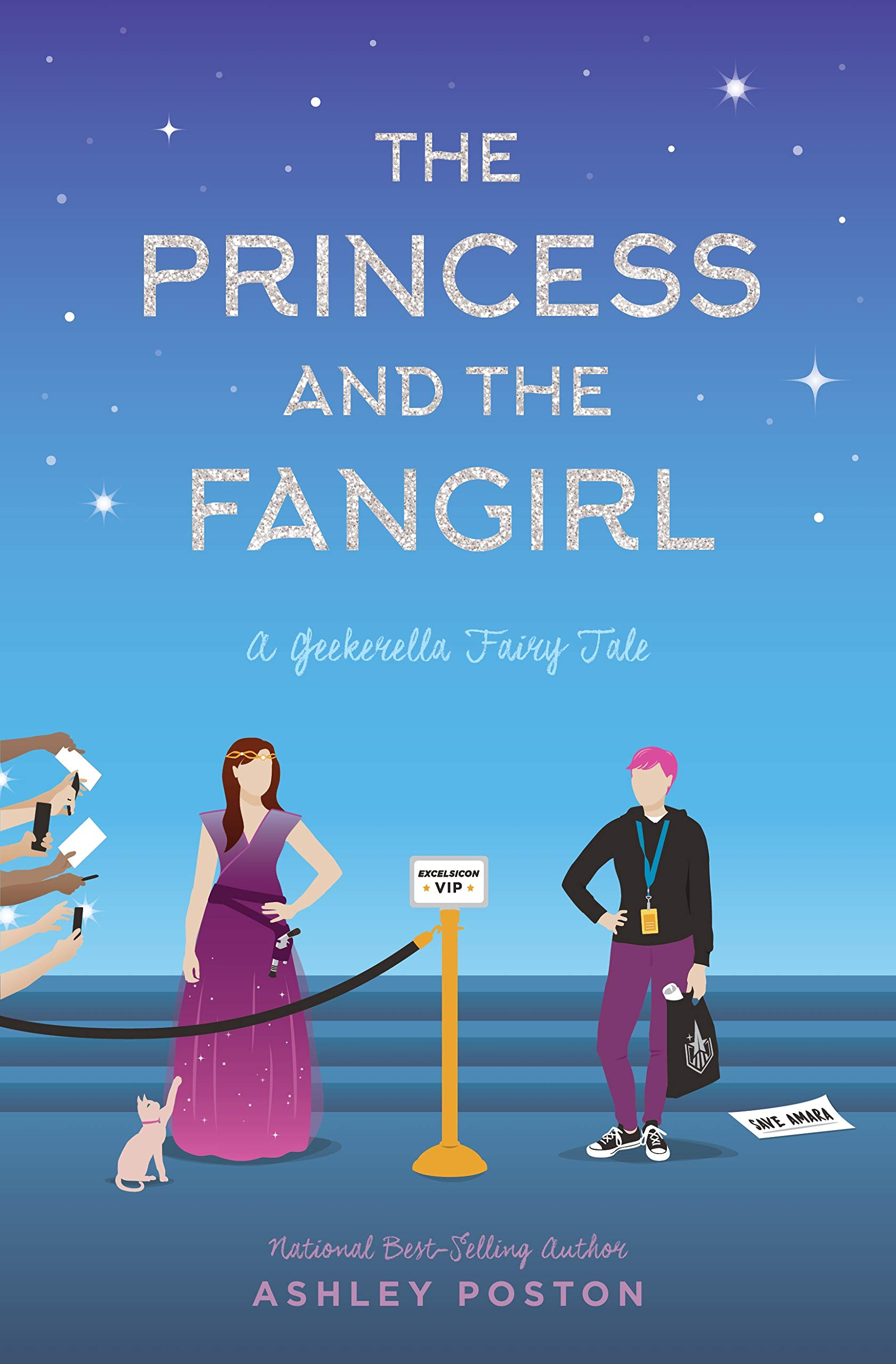 THE PRINCESS AND THE FAN GIRL by Ashley Poston