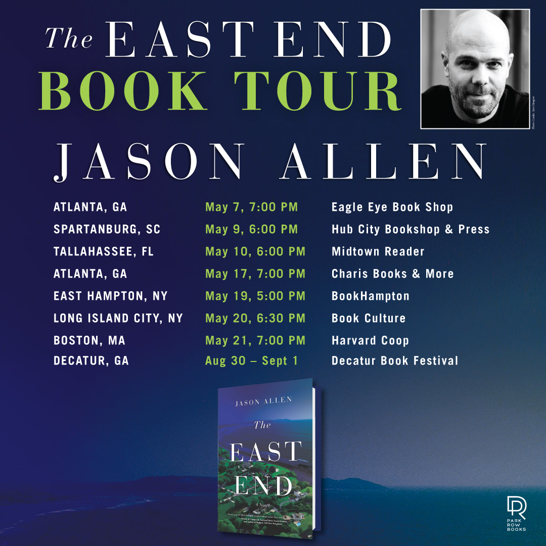 THE EAST END Book Tour