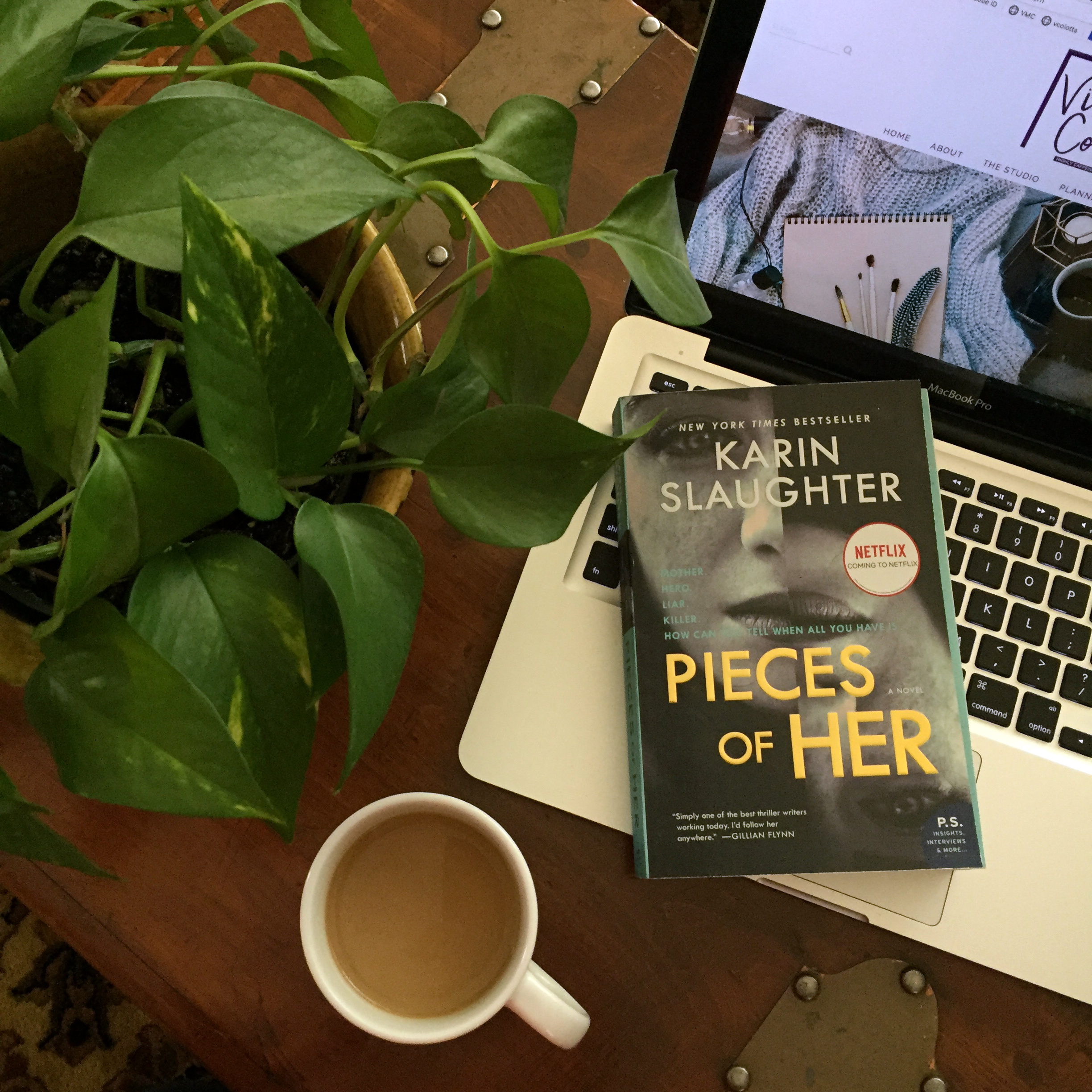 Book Review for PIECES OF HER by Karin Slaughter