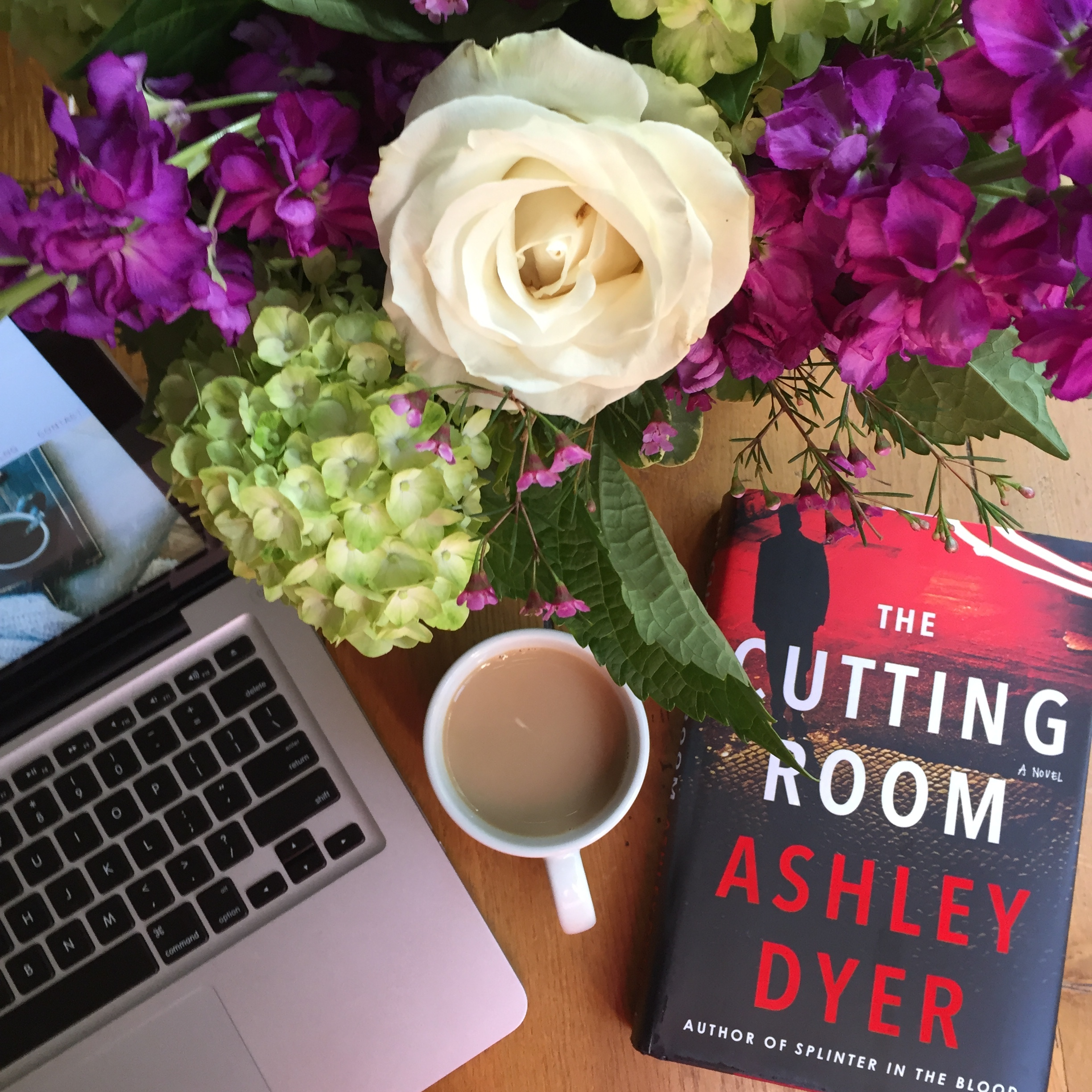 *  Book Review THE CUTTING ROOM by Ashley Dyer  *