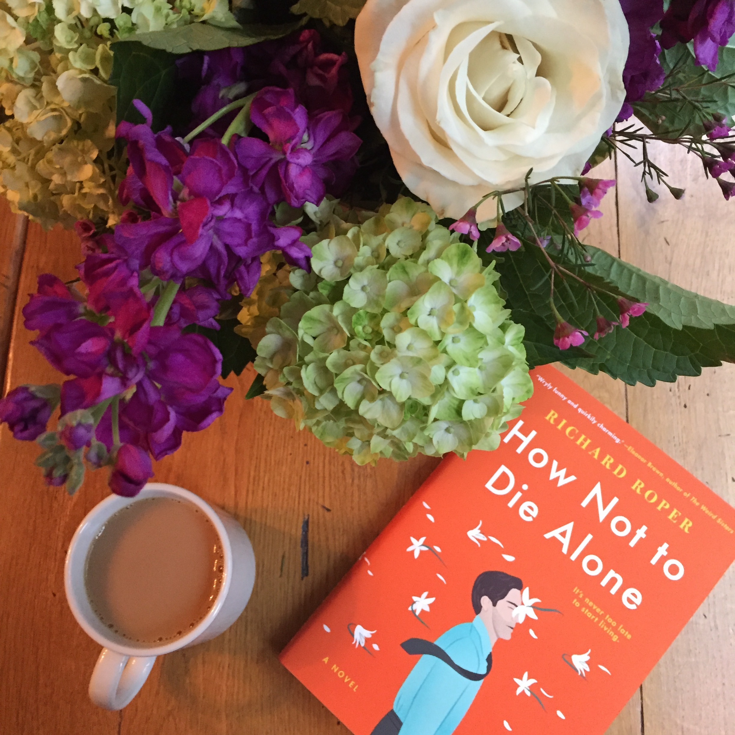 * Book Review for HOW NOT TO DIE ALONE by Richard Roper *