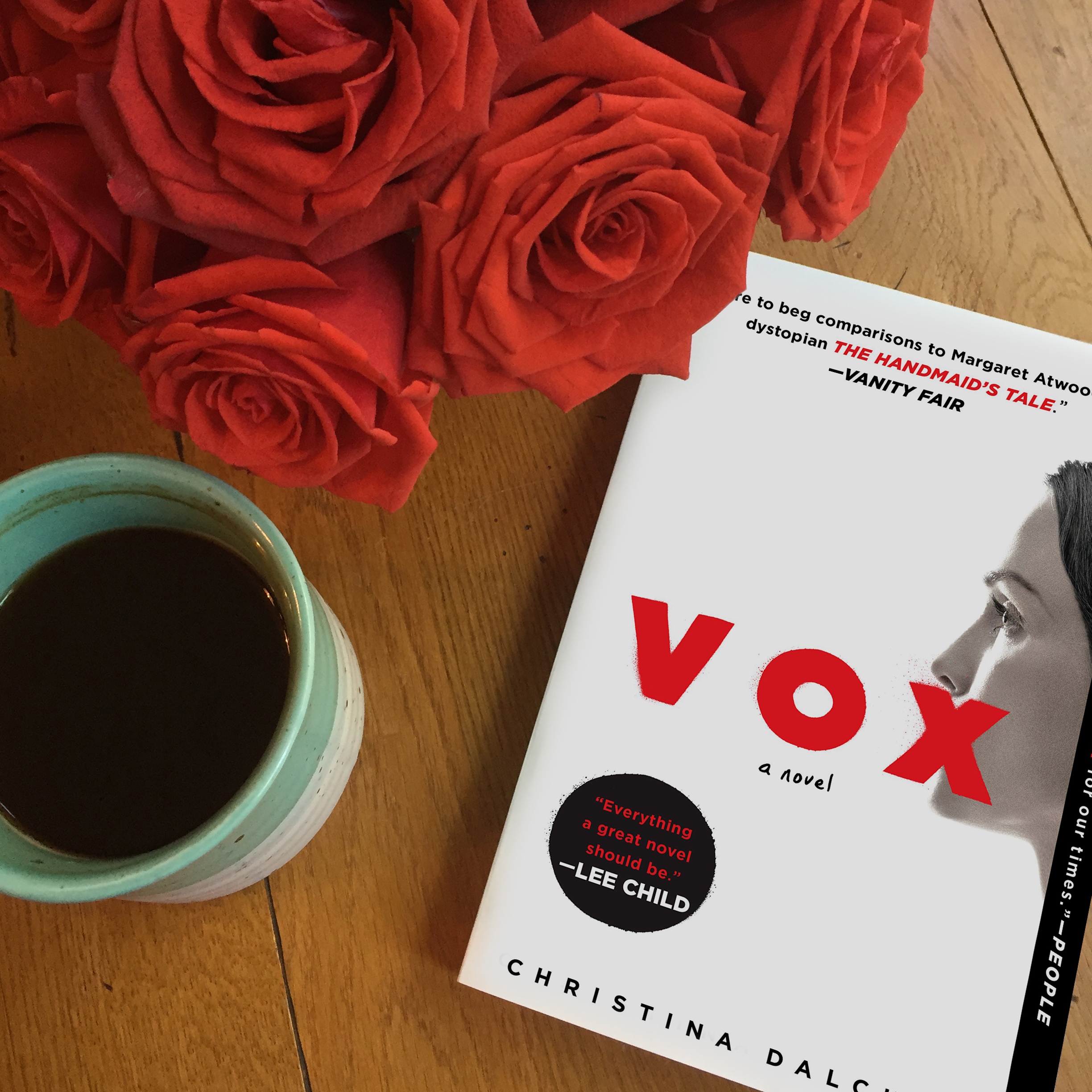 VOX by Christina Dalcher available in paperback!