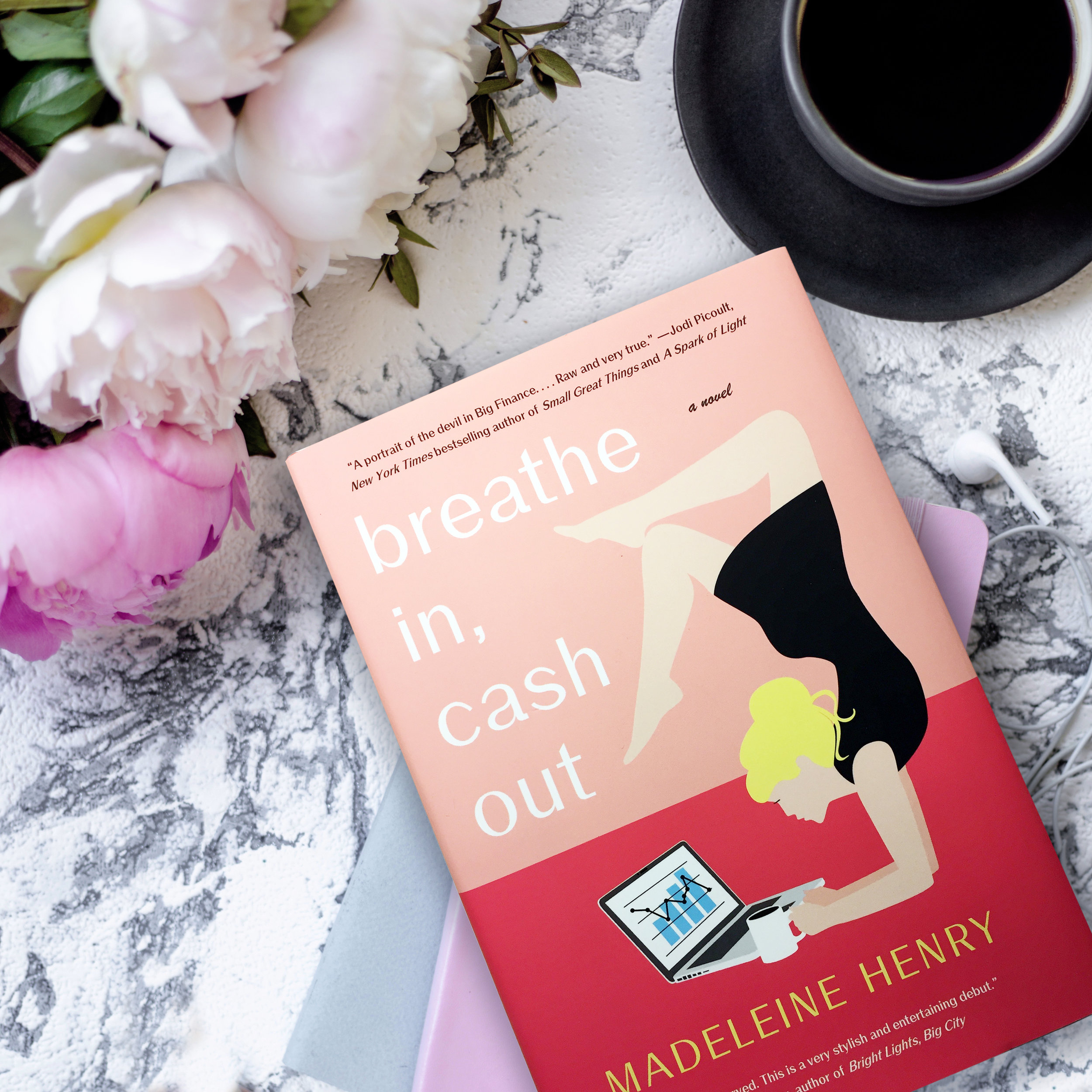 * Book Review for BREATHE IN, CASH OUT by Madeleine Henry *