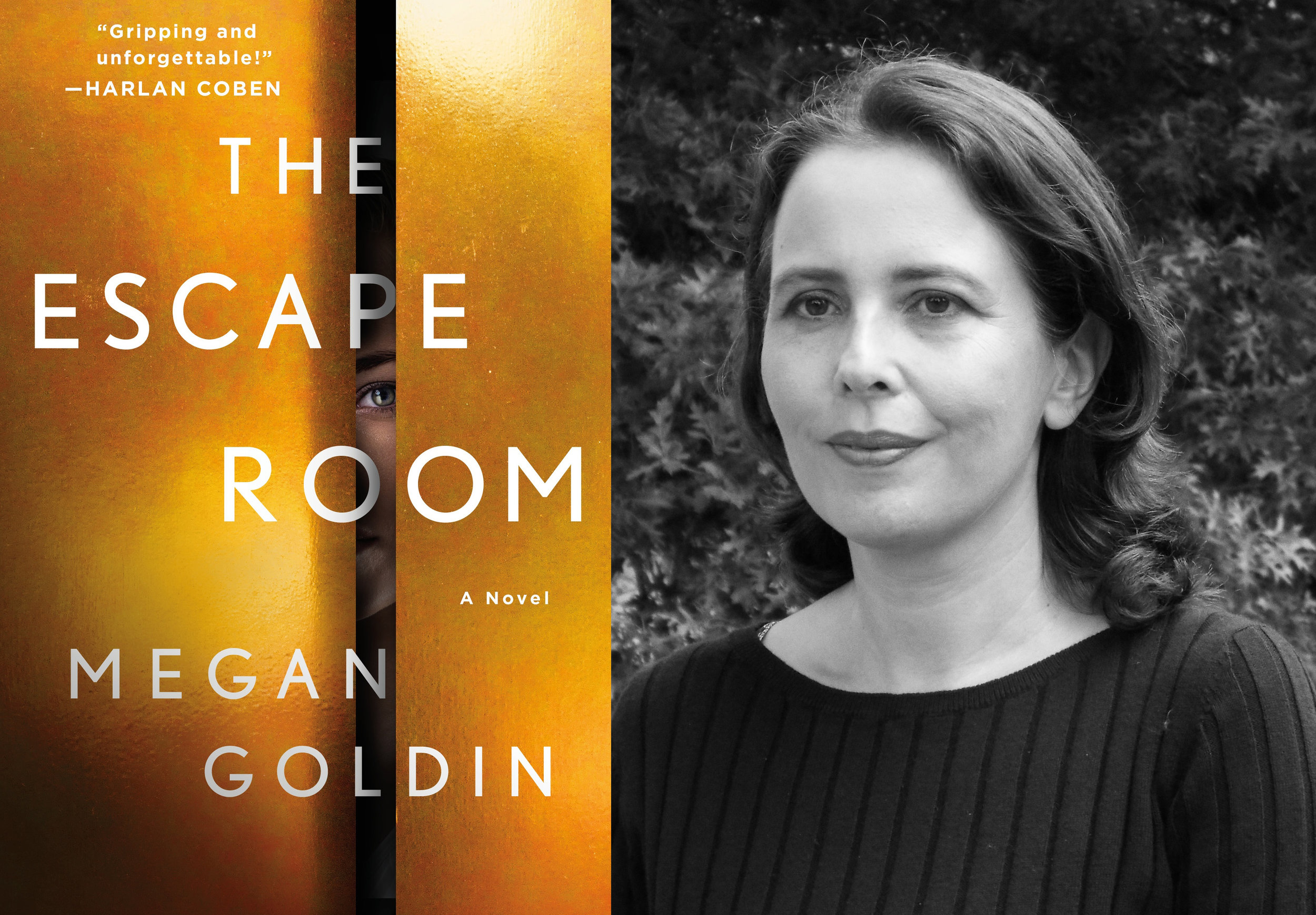Q&A with Megan Goldin the Author of THE ESCAPE ROOM