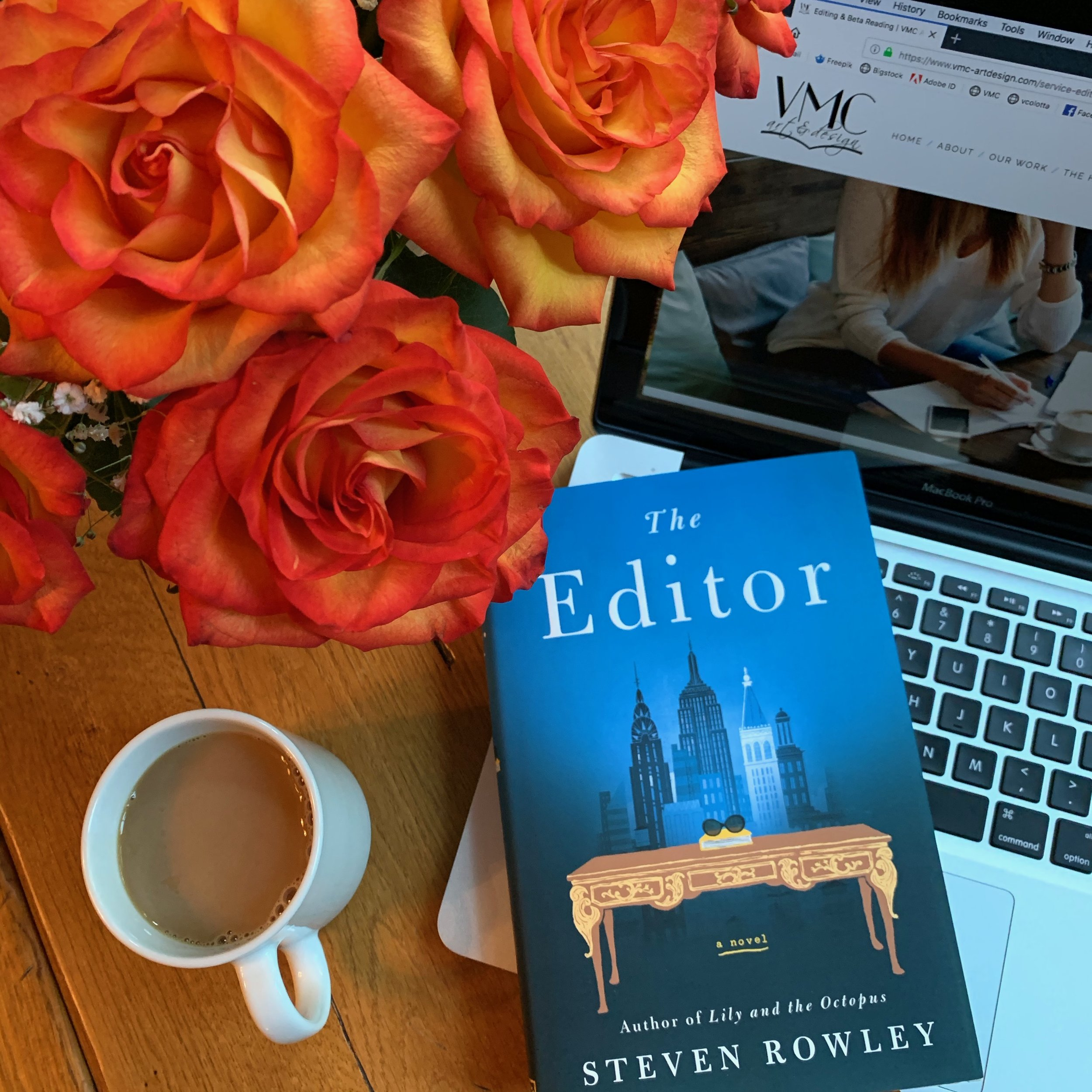 ** Book Review for THE EDITOR by Stephen Rowley **