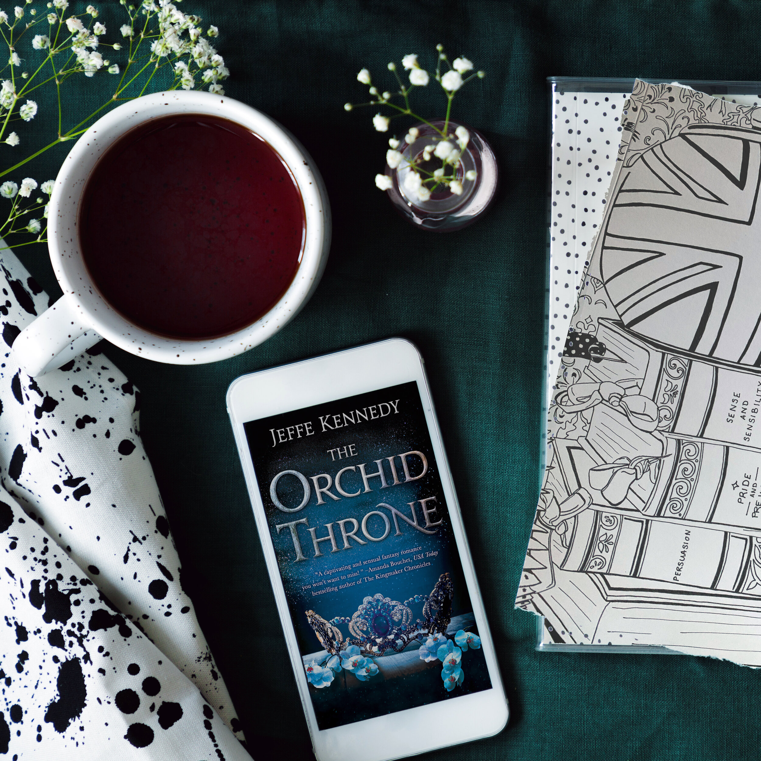 ** Book Review for THE ORCHID THRONE by Jeffe Kennedy **