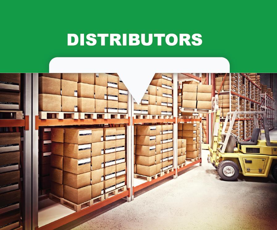 Polypropylene egg belts for distributors