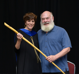 Maureen and Dr. Andrew Weil at University of Arizona Integrative Medicine/March 2017