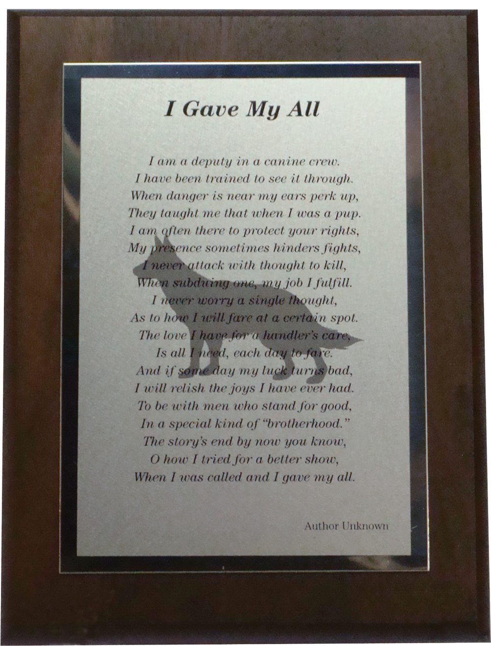 Sample Of Poem With Background Image