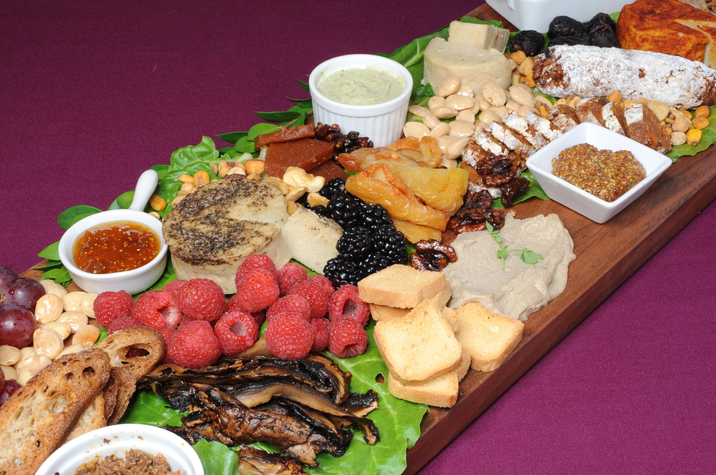 Vegan Charcuterie with Housemade Artisan Cheese