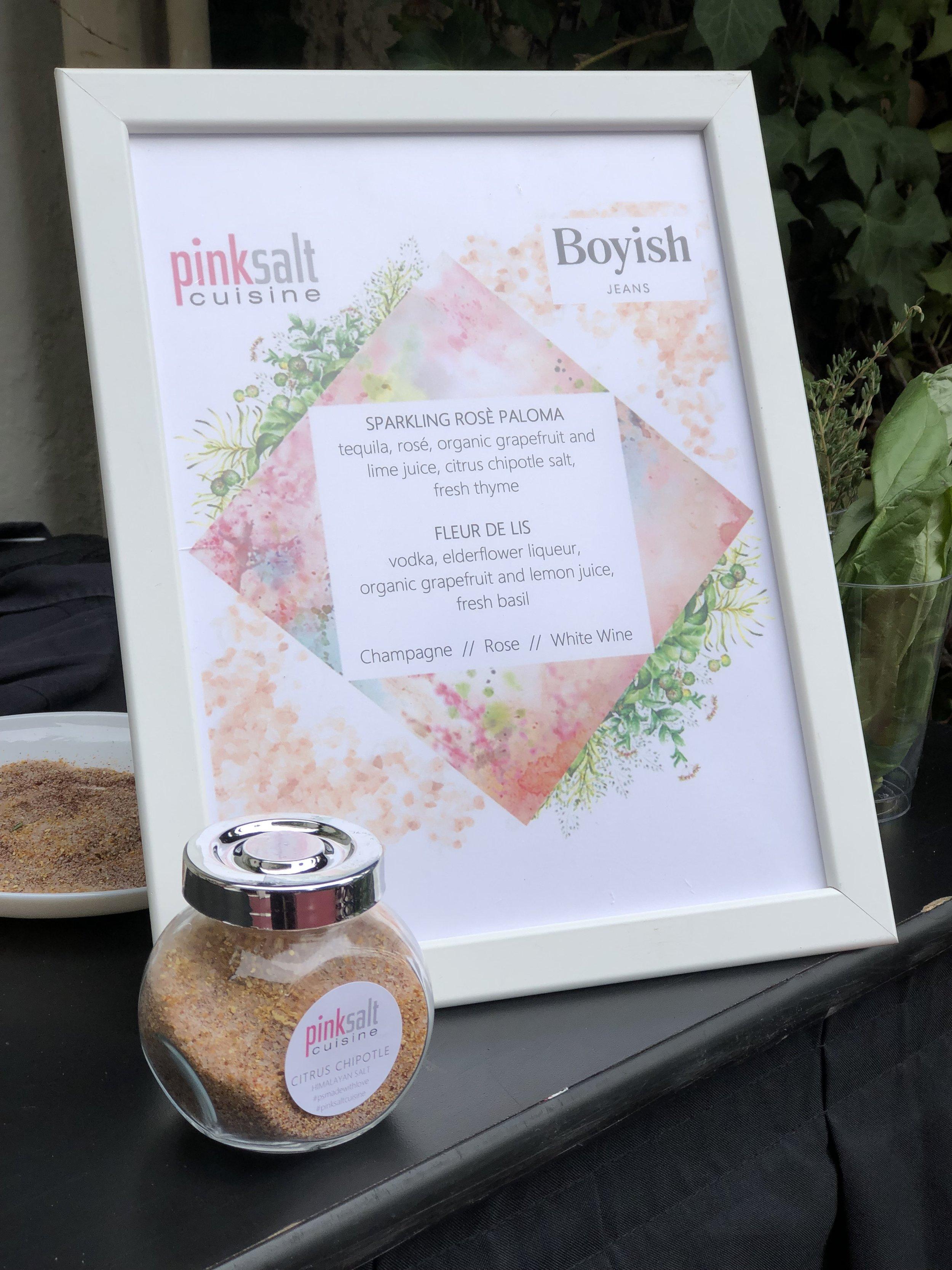 Pink Salt Cuisine - Boyish Jeans - Salt Blend