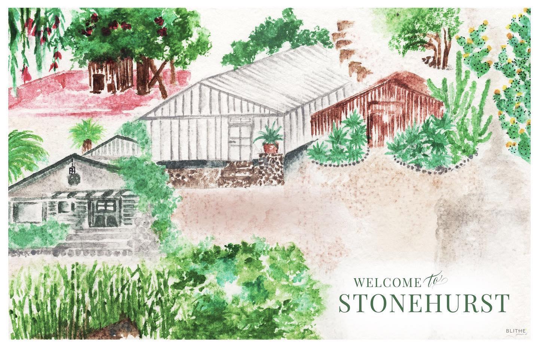 The Stonehurst Watercolor