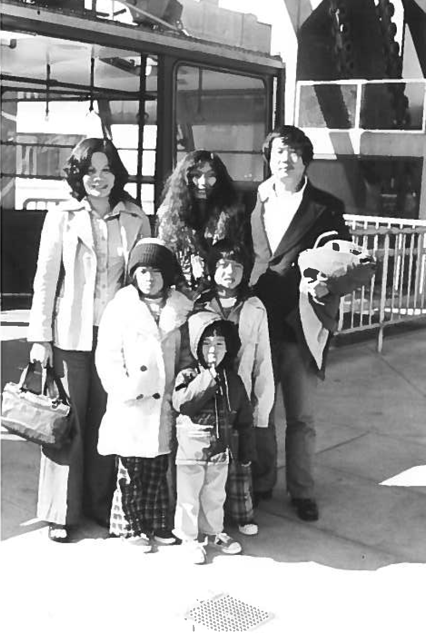 Family with friend in Newport Beach 1977.png