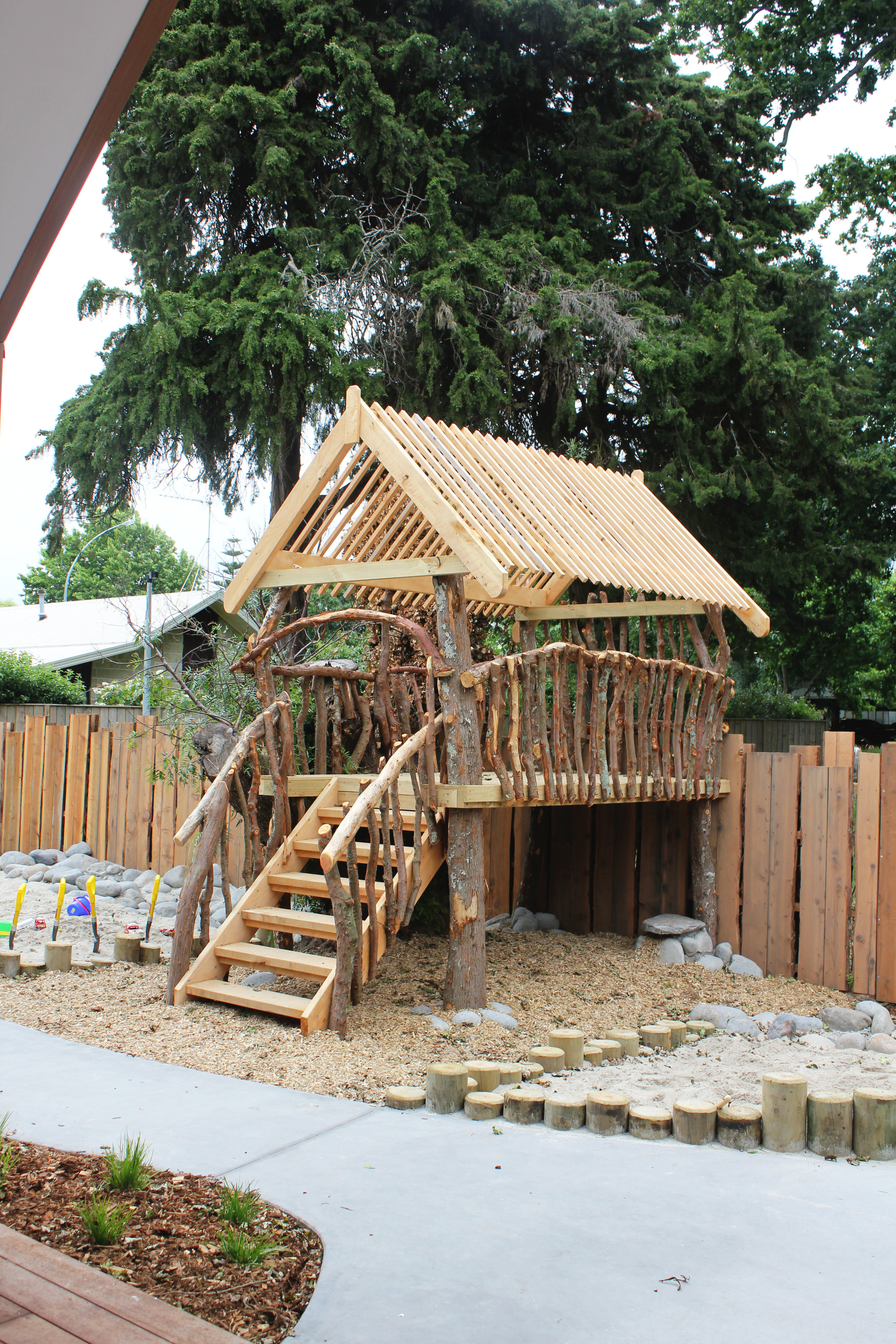 Tree House at House of Wonder Chartwell, Hamilton Pre Schools New Zealand