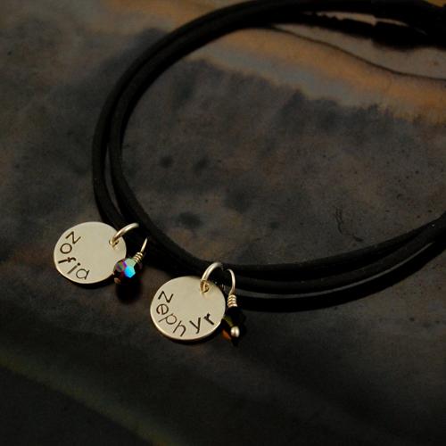 personalized silicone bracelet set of 2 2.jpg