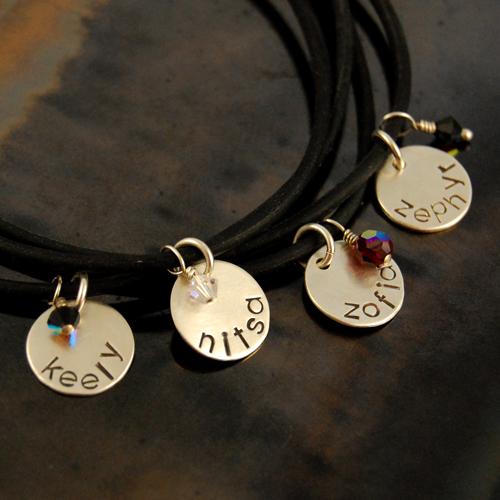personalized silicone bracelet set of 4 1.jpg