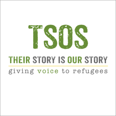 Help refugees share their stories