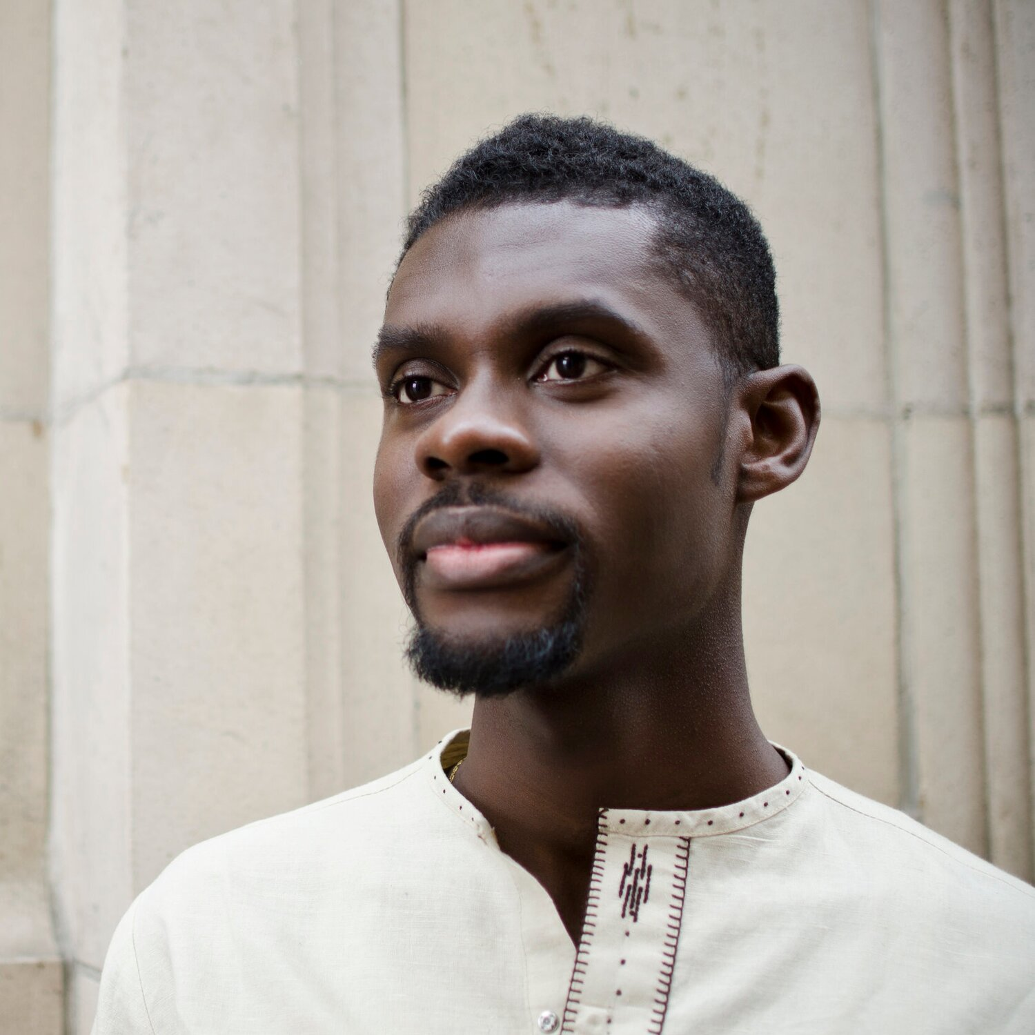"""Praised for his """"burnished tones and focused phrasing,"""" baritone  Jean Bernard Cerin  has charmed audiences throughout the United States, France, Austria, and his native Haiti. A gifted recitalist, Jean Bernard won the Gerard Souzay Prize for best performance of a French Melodie in the 2018 Joy in Singing International Song Competition. With his Duo 1717 partner, pianist Veena Kulkarni-Rankin, he gives recitals throughout the country redefining the limits of a traditional song recital. On the concert stage, this season's highlights included debuts with American Bach Soloists in San Francisco, Philadelphia Chamber Society's Gamut Bach Ensemble, Piffaro Renaissance Wind Ensemble and Louisville's Bourbon Baroque alongside returns to the Philadelphia Bach Festival and the Mendelssohn Club of Philadelphia."""
