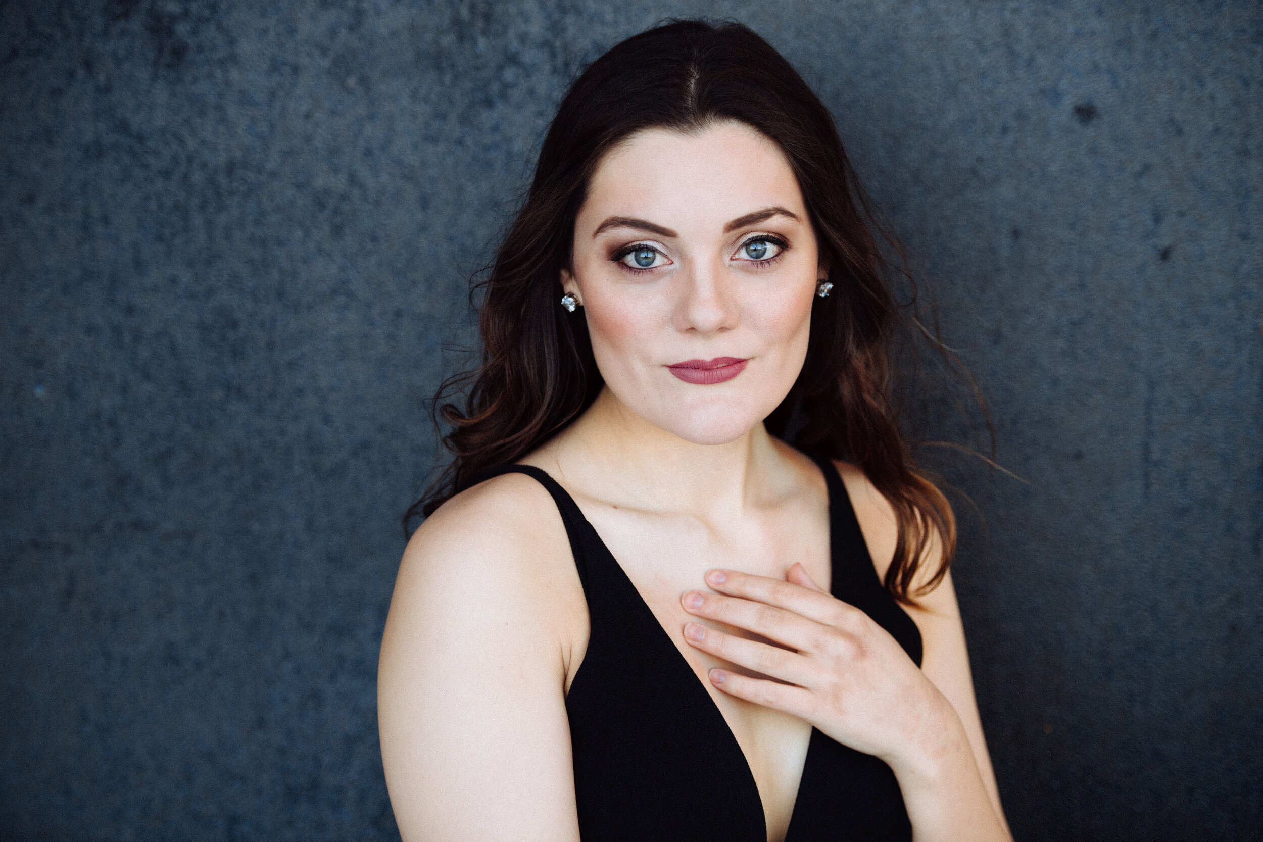 """Mezzo-soprano  Olivia Cosio , originally from San Francisco, CA, is a Master of Music student in Vocal Arts at The Juilliard School. She will tour to Europe with Juilliard this coming June, performing Second Witch in Purcell's """"Dido and Aeneas"""" with performances at London's Holland Park and Versaille's Opéra Royal. She will be a mezzo-soprano fellow at Tanglewood this summer where, last year, she performed Bach cantatas conducted by John Harbison, the world premiere of Michael Gandolfi's """"In America"""", and the role of Susie in Bernstein's """"A Quiet Place"""". Olivia received her Bachelor of Music degree from the Oberlin Conservatory, where she performed Cherubino in Mozart's """"Le nozze di Figaro"""", Dorothée in Massenet's """"Cendrillon"""", and Bradamante in Handel's """"Alcina"""". Olivia has worked with world-renowned artists such as Dawn Upshaw, Marilyn Horne, Isabel Leonard, and Stephanie Blythe. In addition to her vocal studies, Olivia is also an experienced educator, having held teaching fellowships with both the Breakthrough Collaborative and Juilliard's Music Advancement Program."""