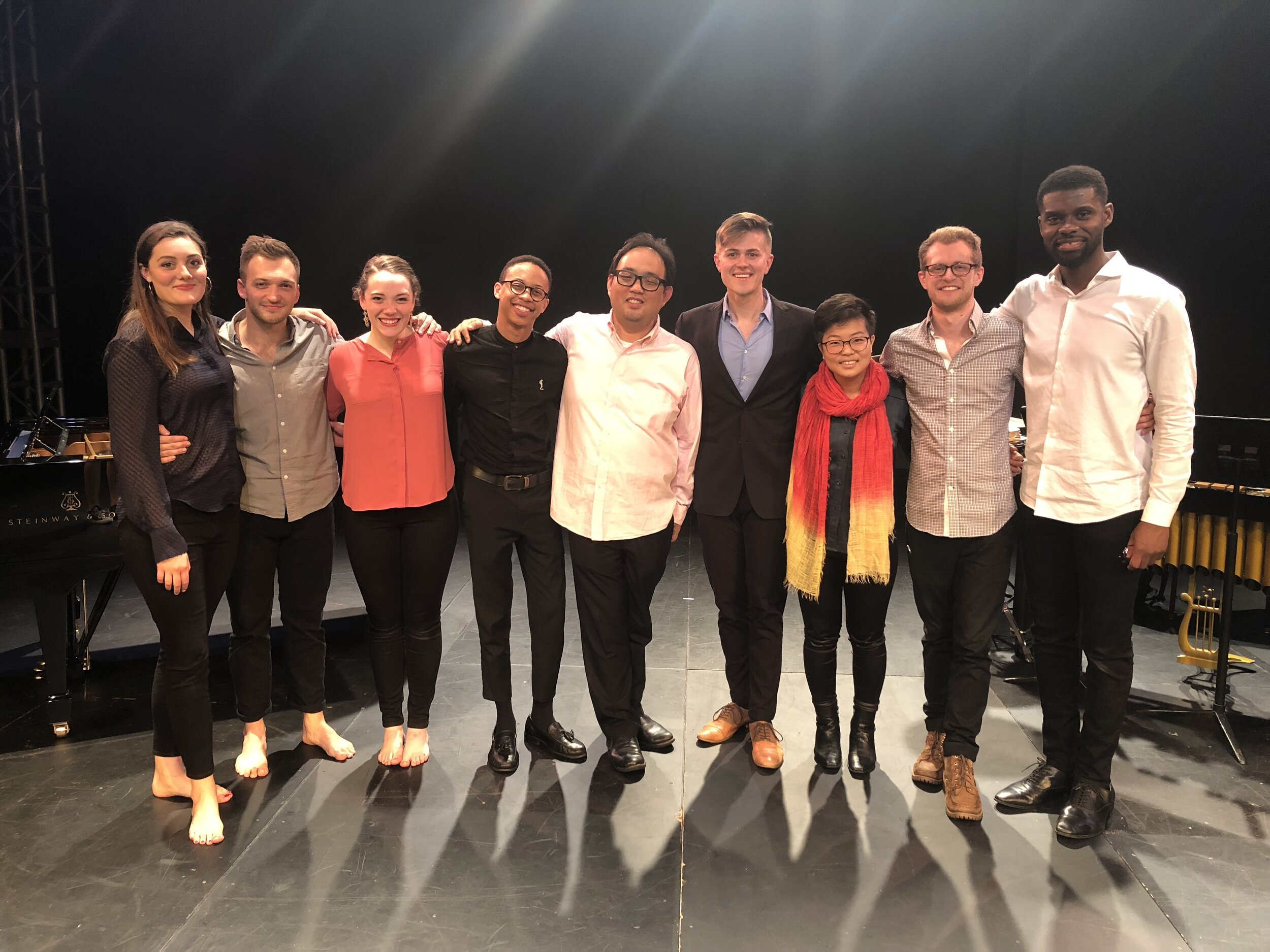 The company after the NYC premiere